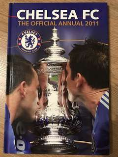 chelsea fc the official annual 2011