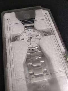 勞力士 未用品 全新16570 白面 Rolex Explorer II 亂碼