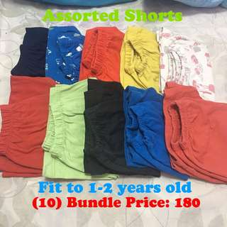 Assorted shorts for ur little boy