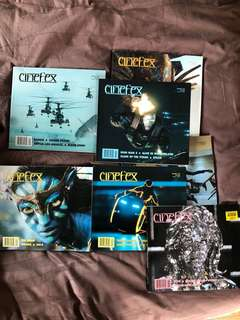 Lot of Cinefex magazines