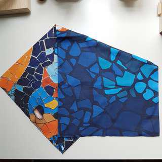 Mosaic Outdoor Head Scarf / Face Mask / Sports Bandana