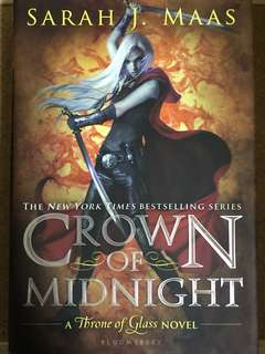 instock Crown of Midnight by Sarah J. Maas