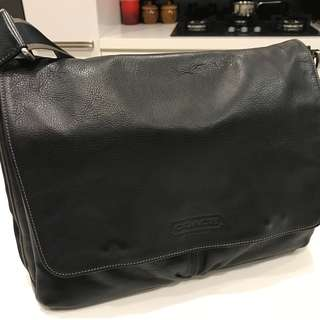 Coach Leather Messenger
