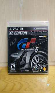 PS3 GT5 XL EDITION