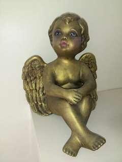 Home Deco Gold Ceramics Angle