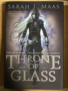SIGNED instock Throne of Glass by Sarah J. Maas