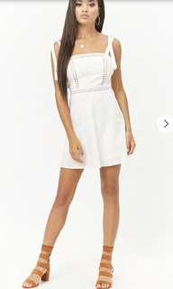 FOREVER21 WHITE DRESS (BNWT)