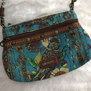 Original Sak Roots Crossbody Bag