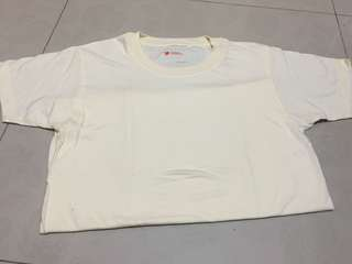 Hanes Comfort Fit Light Yellow Shirt