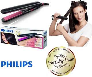 """Philips Hair Straightener """" Easy straight with ion shine """""""