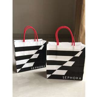 Authentic Sephora Paperbag ukuran S