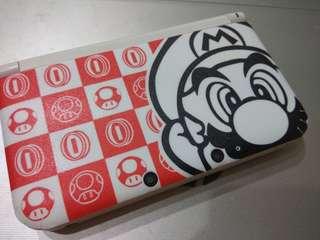 3DS XL with Mario Sticker