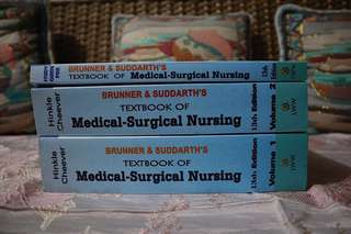 medical-surgical nursing book set (Brunner & Suddarth's)