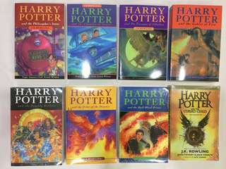 Harry Potter Books (8 books in set)