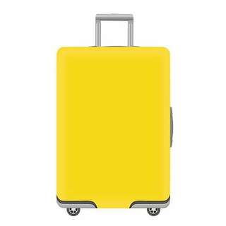 Plain Luggage Cover