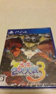 全新 PS4 萌え萌え2次大戦 (略) 3