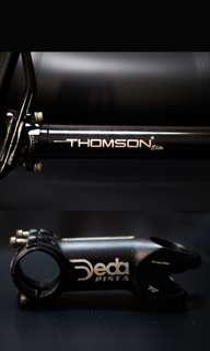 Deda Pista Stem & Thomson Elite Seatpost
