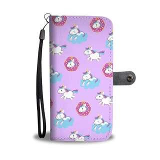 Adorable Unicorn Wallet Case