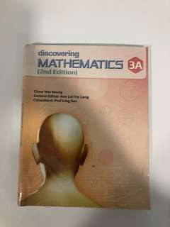 Discovering Mathematics 3A and 3B textbooks