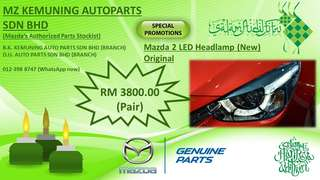 Mazda 2 LED head lamp