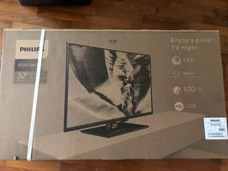 "New-in-box Philips 32"" 4100series HD LED TV"