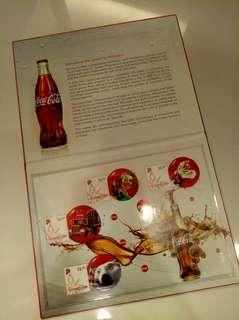 Coca-Cola Vintage Stamp Collection