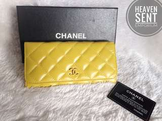 CHANEL Quilted Flap Wallet