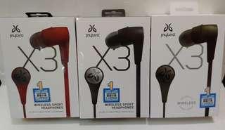 100%全新Jaybird X3無線藍芽耳機