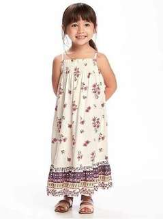 Bnwt old navy smocked maxi dress