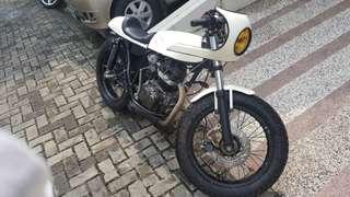 Honda tiger full custom
