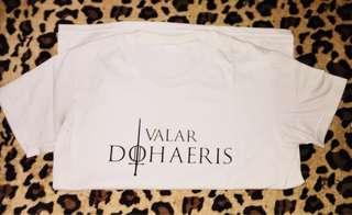 #GameOfThrones Shirt #ValarDohaeris