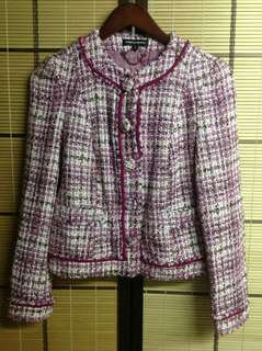 EXPRESS DESIGN STUDIO TWEED FASHION BLAZER (S)