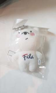 Fila Bear Key Chain