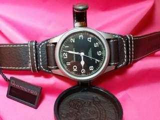 Hamilton~手動上鏈,機械錶,款式特別 ,全新, 有原裝盒,有吊牌