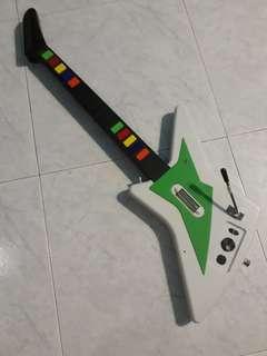 Xbox 360 guitar controller
