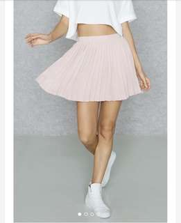 FOREVER 21 PINK PLEATED SKIRT