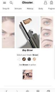 BN Glossier Brow Boy FROM USA brown