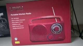 Radio - red