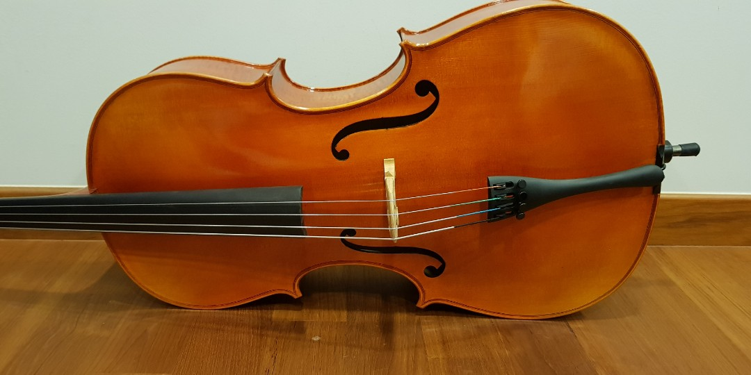 3 4 cello for sale music media music instruments on carousell. Black Bedroom Furniture Sets. Home Design Ideas