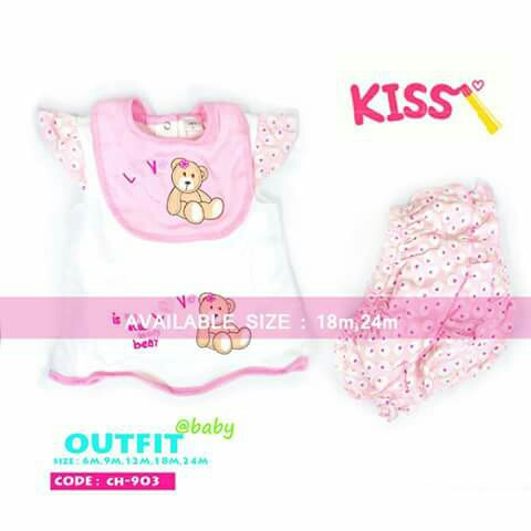 aed4bc052 Baby 3pc Terno Set - CH903
