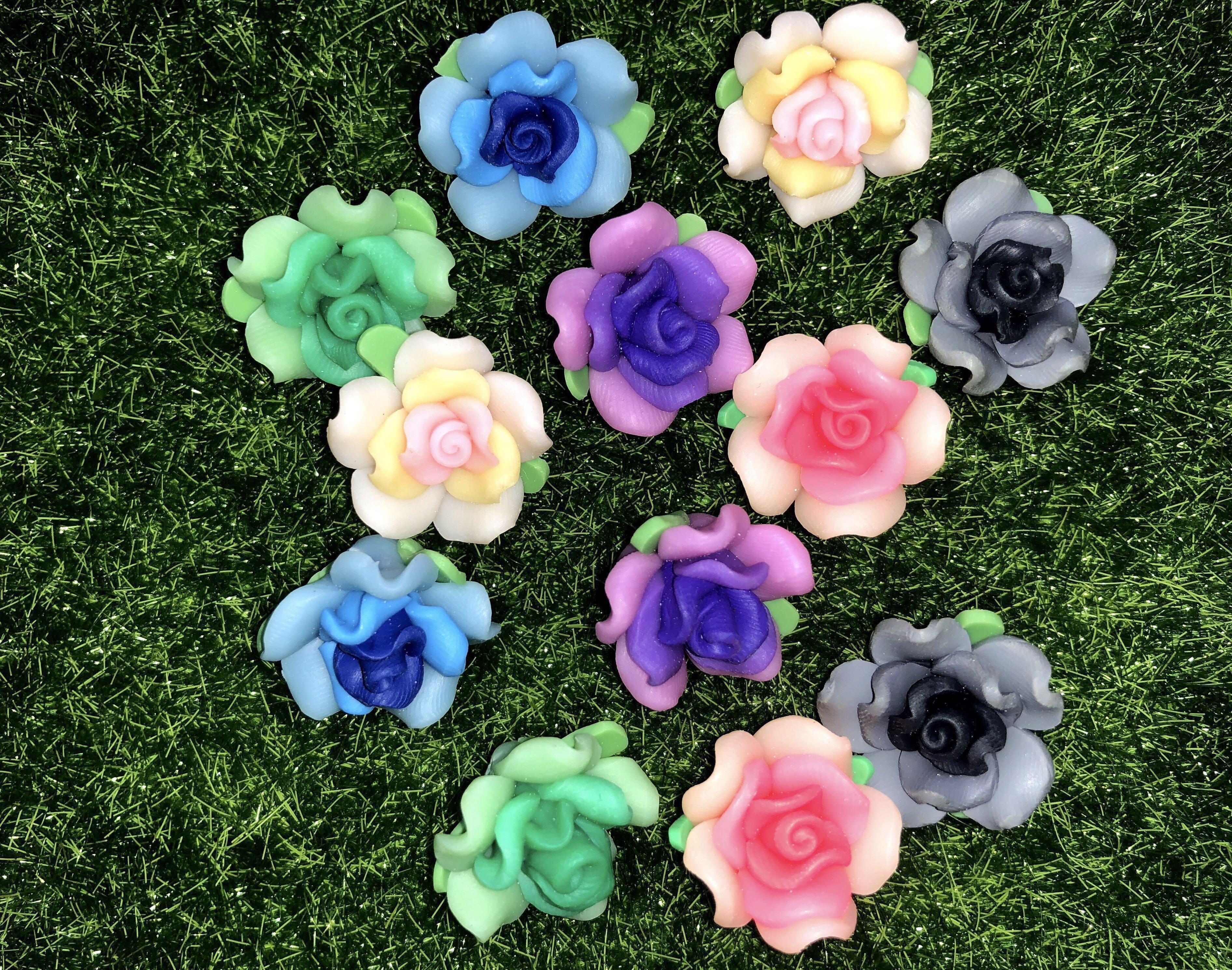 Handmade Handicraft Polymer Clay Flowers Great For Earring Bracelet Necklace Pendant Etc Design Craft Handmade Craft On Carousell