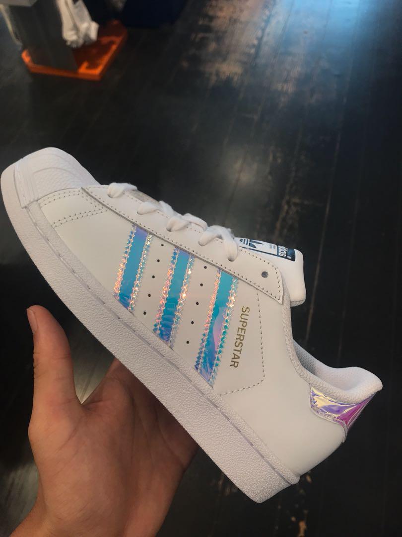 8e44f828390 Adidas superstar j/ holographic