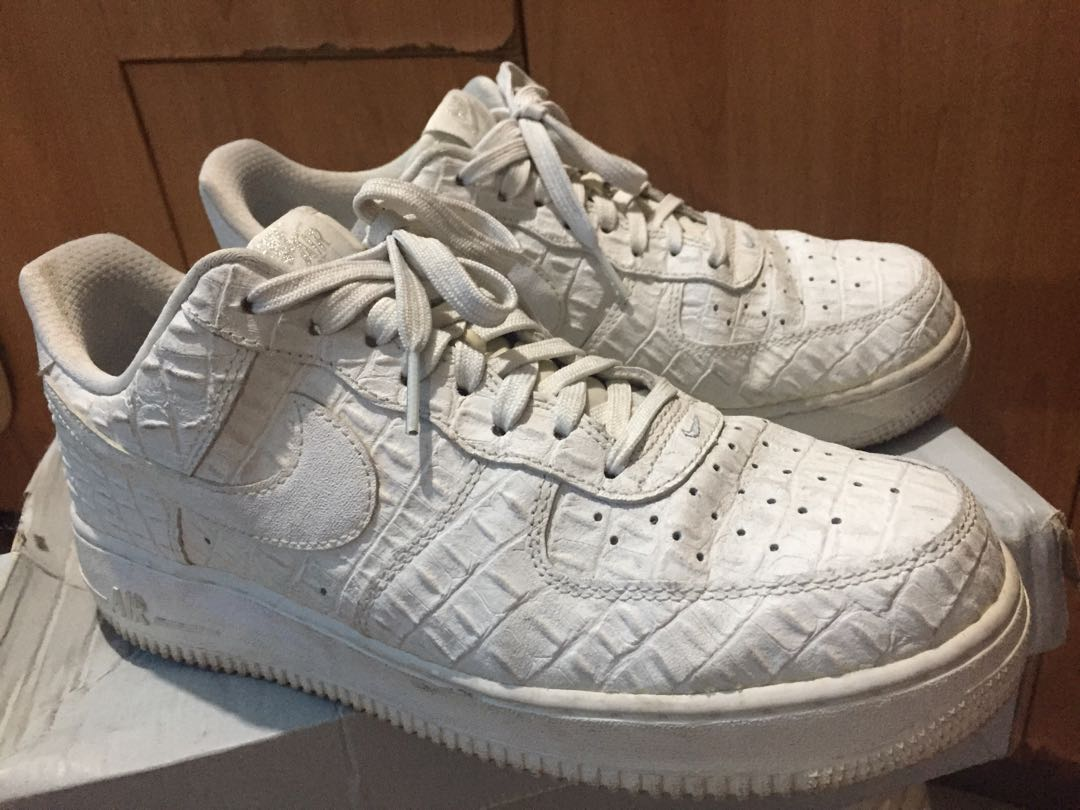 brand new 43c92 d57c7 Airforce 1  07 LV8 Low Croc, Men s Fashion, Footwear, Sneakers on Carousell