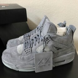 f599bb87fb8 [Authentic] Nike Air Jordan 4 Retro x Kaws, Men's Fashion, Footwear on  Carousell