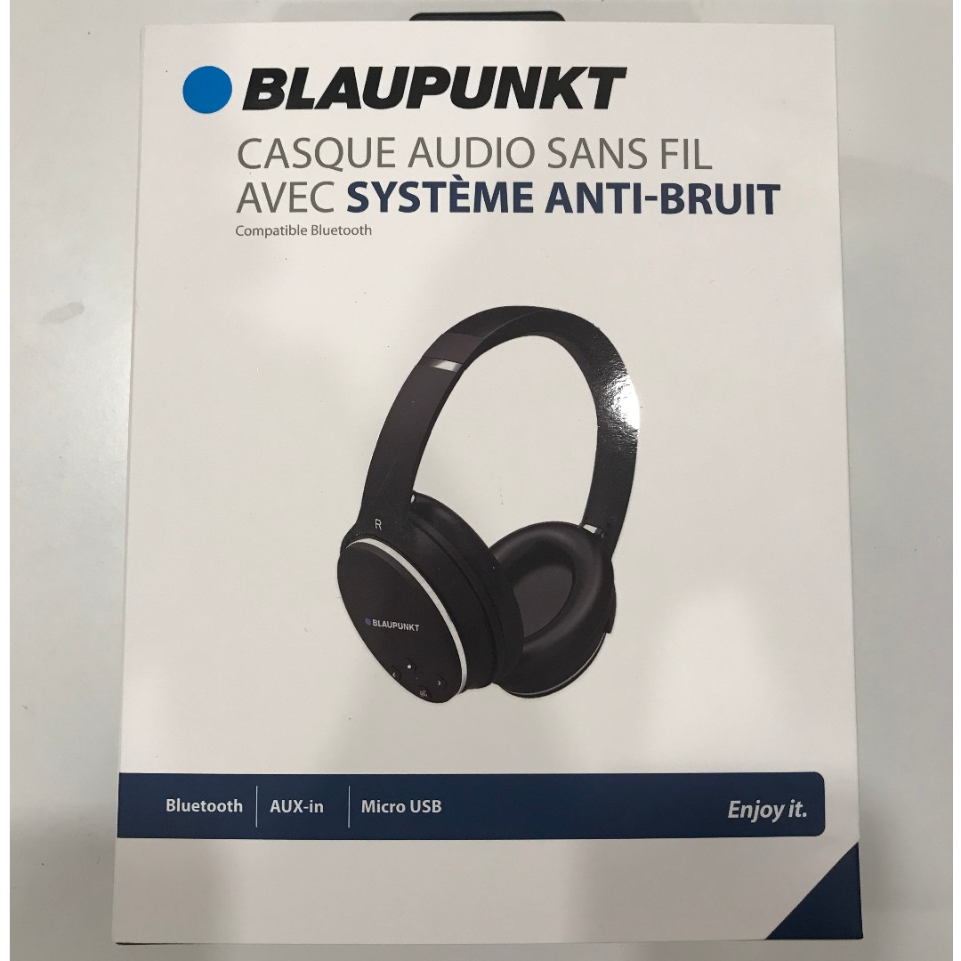 47422a18a90 Blaupunkt Bluetooth Wireless Headset BLP4400, Electronics, Audio on ...