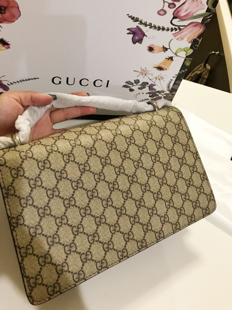 156de855ba194a BN Gucci Dionysus small GG shoulder bag, Luxury, Bags & Wallets, Handbags  on Carousell