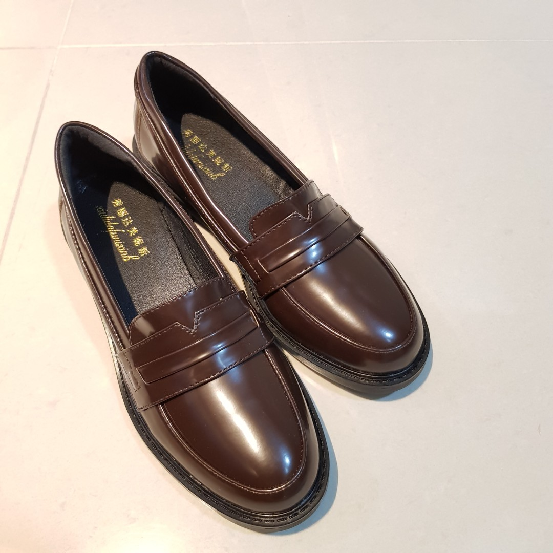 Brand New Faux Leather Loafers