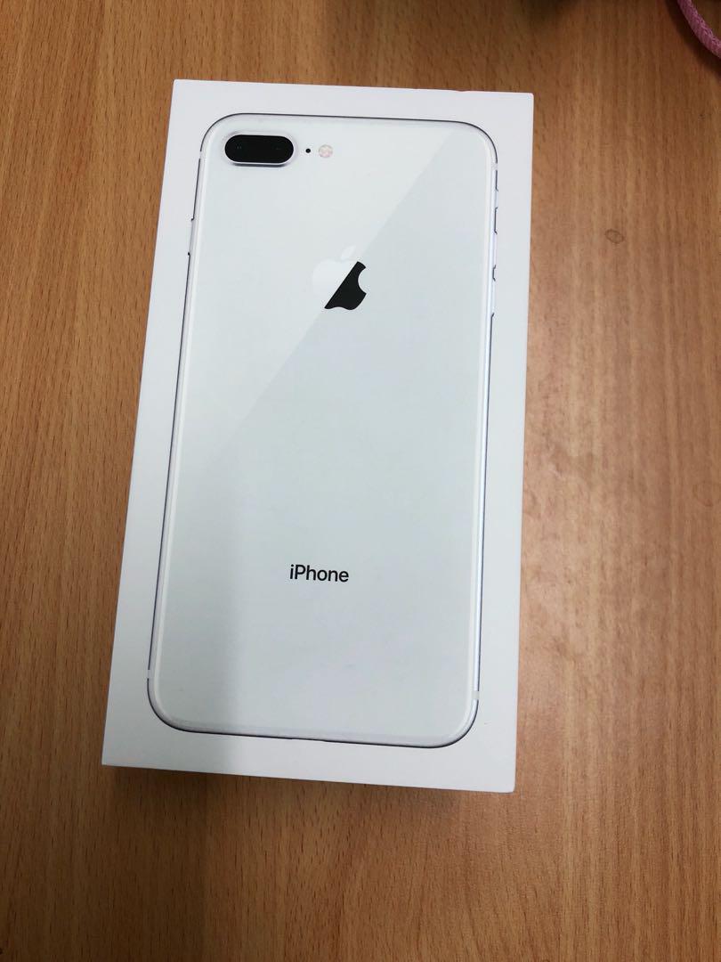 Brand New I Phone 8 Plus Silver 64 Gb