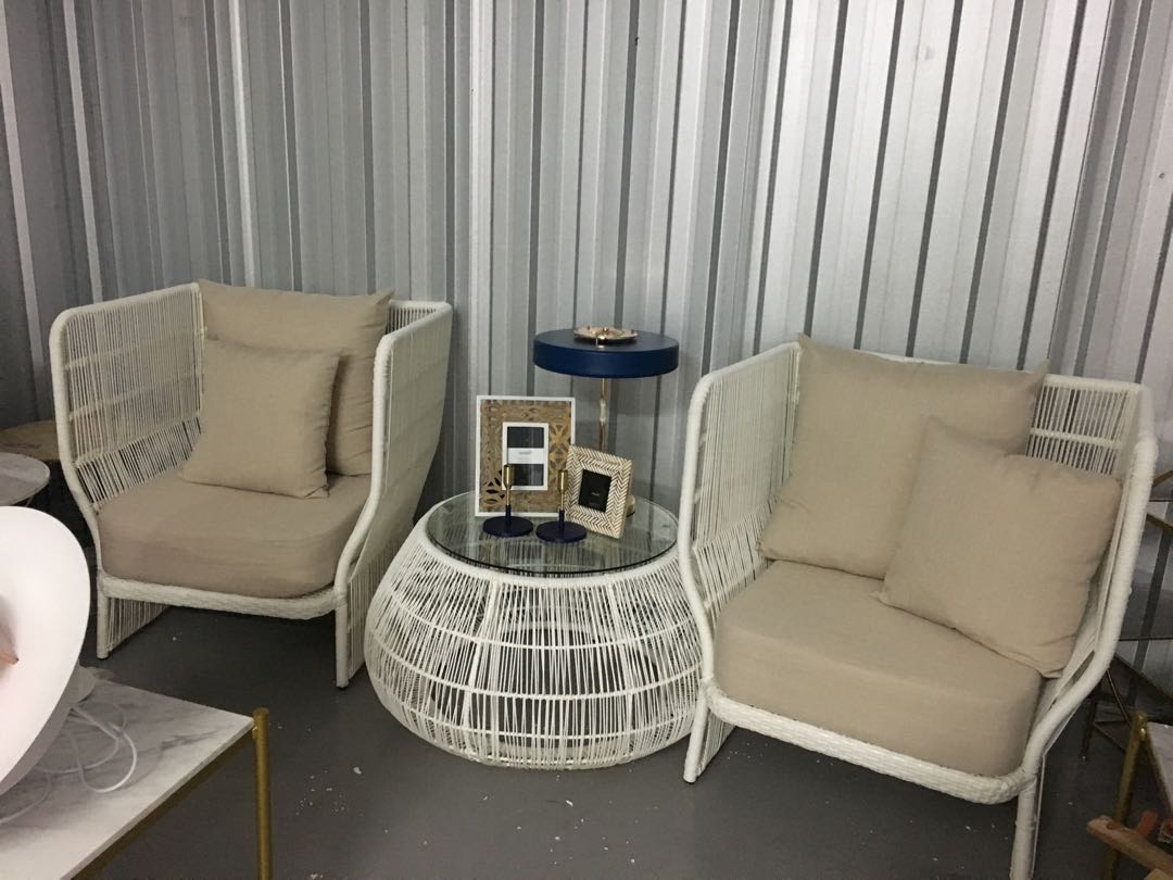 Final Clearance Outdoor Sofa Chair Set Furniture Sofas On