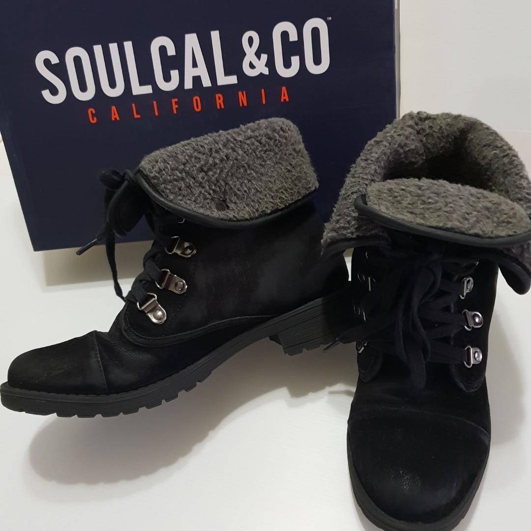 a2519a5372c1 📮Free Registered postage ❤PreLoved Black SoulCal Frost Hiker ...